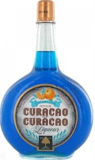 Senior Curacao Of Curacao Liqueur Blue 750ml